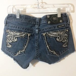Miss me Cutoffs Upcycled Shorts 27
